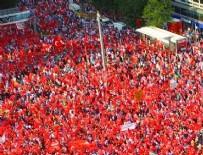 KIZILAY MİLLİ İRADE MEYDANI - Demokrasi Nöbeti Ankara'da final yapacak