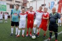 TANJU ÇOLAK - Futbolun Efsaneleri, Rize'de Hükümlülerle Buluştu