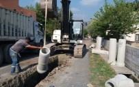 Hatay'da Kanalizasyon Hattı Çalışmaları