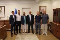 HÜSEYIN KOÇ - İmperial Hastanesi Yönetim Kurulu'ndan Rektör Baykal'a 'Hayırlı Olsun' Ziyareti