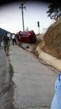 GÖKOVA - Marmaris'te Sürücüsü Uyuyan Otomobil Takla Attı
