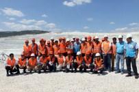 YAVUZ ÖZKAN - Afganistanlı Maden Ve Jeoloji Mühendislerine Eti Maden Kırka Bor İşletmesine Teknik Gezi