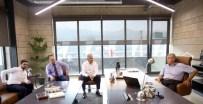 Başkan Karaosmanoğlu, Model Çelik Firmasını Ziyaret Etti