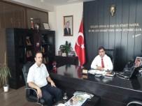 GÜMRÜK MÜDÜRÜ - Gümrük Müdürü Aydeniz'den Kızıltoprak'a Veda Ziyareti