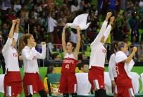 BIRSEL VARDARLı - Milliler, Belarus'u Yenerek Çeyrek Finale Kaldı