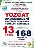 ORMAN GENEL MÜDÜRLÜĞÜ - Orman Ve Su İşleri Bakanı Veysel Eroğlu, Yozgat'ta Temel Atacak