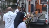 İLK YARDIM - Otelin balkonundan düşen genç kadın yaralandı!