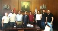 HÜSEYIN KOÇ - Adıyaman 1954 Spor Kulübü TBMM Başkanvekili Aydın'ı Ziyaret Etti
