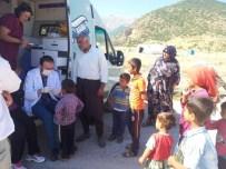 DIŞ MACUNU - Afyonkarahisar'da Mevsimlik İşçilere Diş Taraması Yapıldı