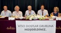 HÜSAMETTIN ÇETINKAYA - ATSO Dostlar Grubu Kumluca Belediye Başkanı Çetinkaya'yı Konuk Etti