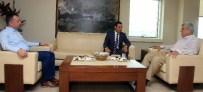 YÜKSEK ASKERİ ŞURA - Başkan Karaosmanoğlu, Korgeneral Gürak Ve Başsavcı Kurt'u Makamında Ağırladı