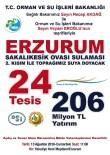 ORMAN GENEL MÜDÜRLÜĞÜ - Erzurum'a 206 Milyon TL'lik 24 Tesis