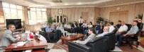 İLETİŞİM FAKÜLTESİ - Gazeteciler Cemiyeti'nden Rektör Gür'e Ziyaret