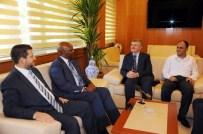 BENZERLIK - Raunda Ankara Büyükelçisi Nkurunziza'dan, Başkan Aykürek'e Ziyaret
