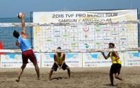 VOLEYBOL FEDERASYONU - TVF 2016 Pro Beach Tour Samsun Etabı Başladı