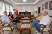 UĞUR YÜCEL - Yeni Kütahya Valisi Nayır'a Eskişehir'den Ziyaret
