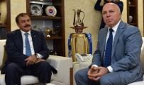 MEHMET SEKMEN - Bakanlar Akdağ Ve Eroğlu'ndan Başkan Sekmen'e Ziyaret