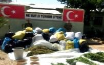 Diyarbakır'da 2 Ton Esrar Ele Geçirildi