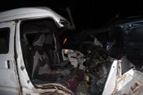 YARıMCA - Erzurum'da Kaza Açıklaması 3'Ü Ağır 10 Yaralı