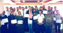 AHMET GAZI KAYA - KOSGEB Kurslarını Tamamlayan Kursiyere Sertifikaları Verildi