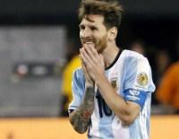 VENEZUELA - Messi Geri Dönüyor