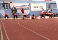 MERKEZ HAKEM KURULU - Spor Toto 1. Lig 1. Kademe Atletizm Müsabakaları Başladı