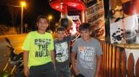 Burhaniye'de Çocuklar Boksa Merak Sardı