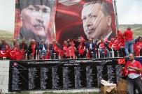 İREM DERİCİ - Demokrasi Şöleni'nde 20 Bin Tük Bayrağı Dağıtıldı