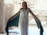 YENICEKENT - 2 Bin Yıllık Tasarımlı Elbiselerle Defile