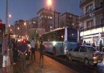 GÖRGÜ TANIĞI - 6 Araç Birbirine Girdi 8 Kişi Yaralandı Açıklaması Kaza Anı Kamerada