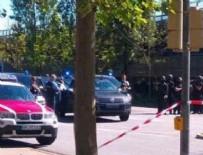 KÖLN - Almanya'da silahlı saldırı
