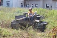 Darbecilere Kızdı 'Tank' Yaptı