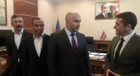 TÜRK DÜNYASI - Kars Ülkü Ocakları'ndan Azerbaycan Başkonsolosluğu'na Ziyaret