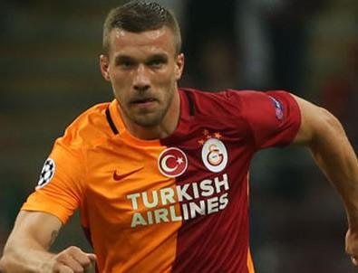 Lukas Podolski'den yazılı açıklama