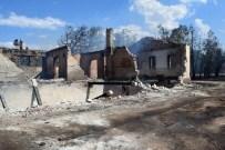 SERDAR DEMİRHAN - Malatya'da 100 Dönümlük Alan Kül Oldu