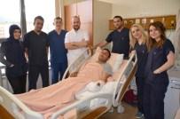KAYAHAN - Sarıkamış'ta Parmakları Kopan Vatandaş Yapılan Cerrahi Operasyonla Yeniden Parmaklarına Kavuştu