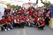SABAH NAMAZı - Türk Kızılayı 27 Günde 1 Milyon 550 Bin Su Dağıttı
