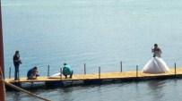 CUNDA ADASı - Ayvalık Edremit Körfezinde Evlenen Çiftlerin Fotoğraf Çekim Platosu Haline Geldi
