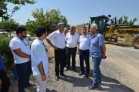 ŞAHNAHAN - Başkan Polat Şahnahan Mahallesi'nde Yol Yapım Çalışmalarını İnceledi
