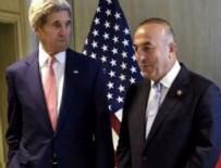 JOHN KERRY - Çavuşoğlu - Kerry arasında kritik görüşme