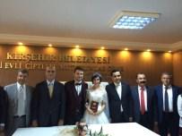 YıLMAZ ZENGIN - CHP Genel Başkan Yardımcısı Tekin Bingöl Kırşehir'de Nikah Kıydı