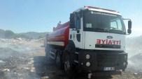 KOCA SEYİT - Çöplükteki Yangın Kontrol Altına Alındı