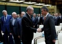 MILLI GÜVENLIK KURULU - Cumhurbaşkanı Erdoğan, Feyzioğlu Ve Baro Başkanlarını Kabul Etti