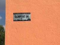 SIYAH BEYAZ - Mahalle Sınırları Değişen Turhal'da Levha Çalışması