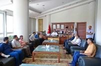 AHMET KESKIN - MGTC'den Başkan Çakır'a Ziyaret