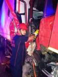 KARAKUYU - Osmaniye'de Trafik Kazası Açıklaması 1 Yaralı