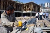 HACI BAYRAM - Şehitlik Camii Dini Ve Sosyal Tesis İnşaatı Yükseliyor