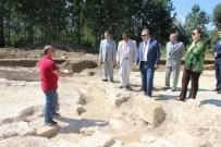 KONURALP - 1700 Yıllık Roma Villası Gün Yüzüne Çıkıyor