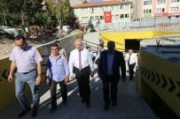 OTOPARK SORUNU - Başkan Katlı Otopark İnşaatını İnceledi