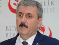 BÜYÜK BIRLIK PARTISI GENEL BAŞKANı - BBP Genel Başkanı Destici'ye büyük şok!